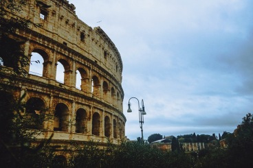 There she is. The Colosseum